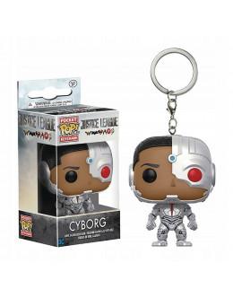 Брелок DC-Justice League - Cyborg Keychain