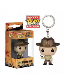 Брелок The Walking Dead-Rick keychain