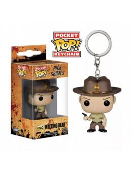 Брелок The Walking Dead-Rick keychain