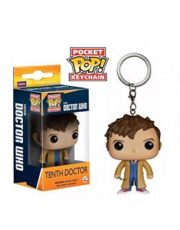Брелок Doctor Who 10th Doctor keychain