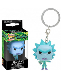 Брелок Rick and Morty - Rick keychain