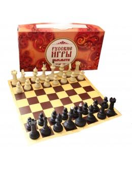 Шахматы Айвенго с доской из микрогофры
