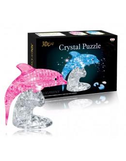 3D пазл crystal blocks дельфин