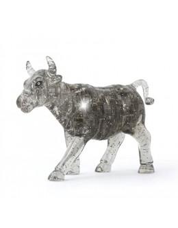 3D пазл crystal blocks бык