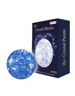 3D пазл crystal blocks земля