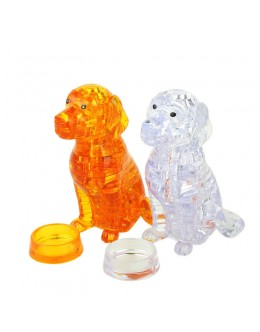 3D пазл crystal blocks собака