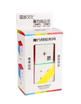 Набор кубиков MoYu 2x2x2-3x3x3 Cubing Classroom SET