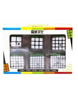 Набор MoYu Cubing Classroom 2+3+4+5+6+7 set наклейка