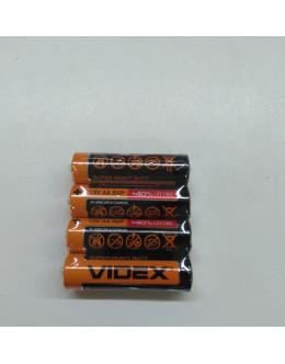 Батарейка VIDEX  АА пальчиковая