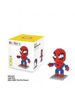 Конструктор Micro brick spiderman