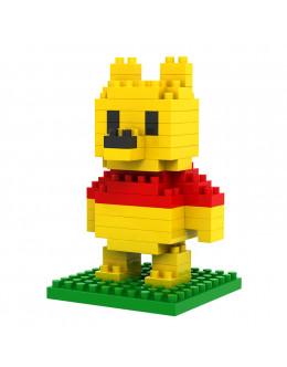 Конструктор Micro brick winnie pooh
