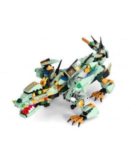 Конструктор MOULD KING Зеленый дракон