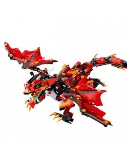 Конструктор MOULD KING Огненный дракон
