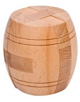 Деревянная головоломка Диогенова бочка 7.5 см