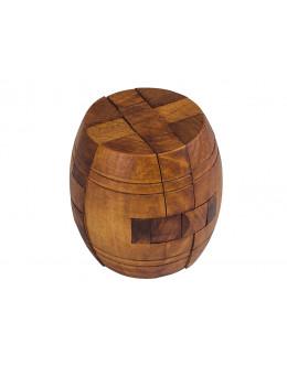 Деревянная головоломка Диогенова бочка 6см