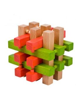 Деревянная головоломка 18 Братьев