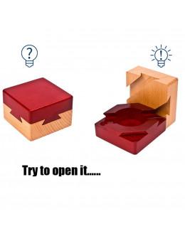 Деревянная головоломка Коробочка