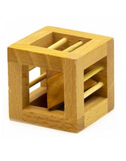 Деревянная головоломка Wooden Caged Pyramid