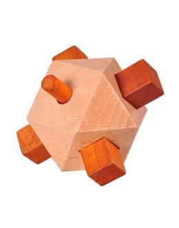 Деревянная головоломка Wooden Cross Mine