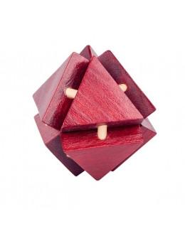 Деревянная головоломка Triangle lock