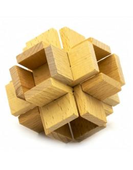 Деревянная головоломка Beech Chinese Character Cage Puzzle