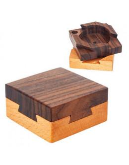 Деревянная головоломка black walnut inside the mysterious box