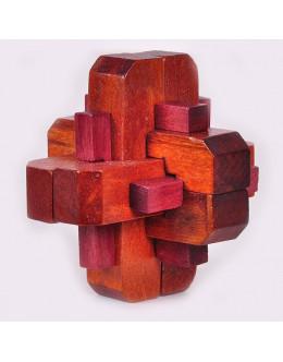 Деревянная головоломка two-color eighteen arhat column