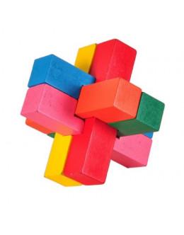 Деревянная головоломка beech  6 colors