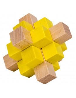 Деревянная головоломка Beech 2 color small nine-way