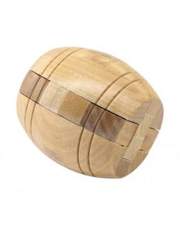 Деревянная головоломка Диогенова бочка 4.5 см