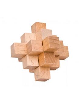 Деревянная головоломка small Pineapple ball 9pcs