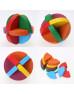 Деревянная головоломка Colored hole ball