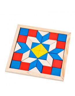 Деревянная головоломка Diamond puzzle triangle