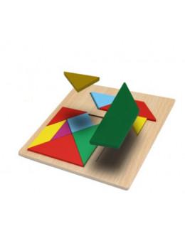 Деревянная головоломка skillful board