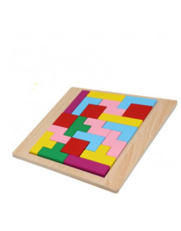 Деревянная головоломка планшет тетрис 2