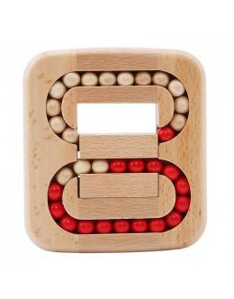 Деревянная головоломка Plane ball