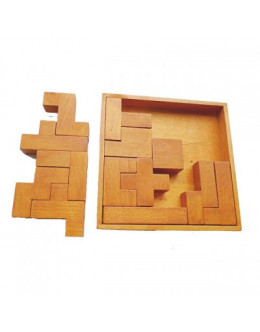 Деревянная головоломка Thirteen blocks of brains block