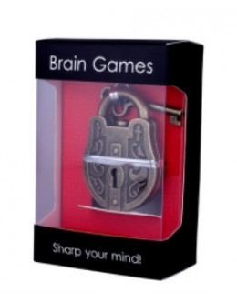 Металлическая головоломка Замок gift box