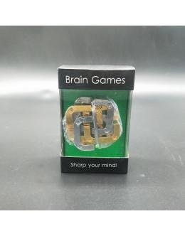 Металлическая головоломка Клевер gift box