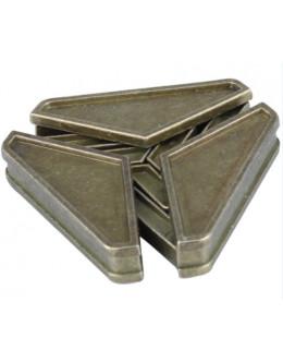 Металлическая головоломка Triangular lock