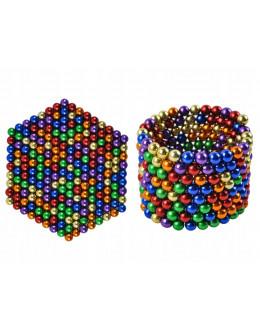 Неокуб 1 шарик 5мм (стальной, золотой, синий, красный)