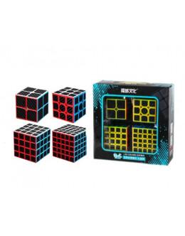 Набор кубиков MoYu MFJS MeiLong 2x2-5x5 carbon