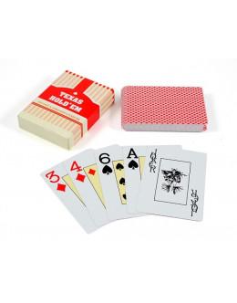 Карты Texas Hold'Em пластик
