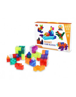 Конструктор Magic block DIY set 68 pcs