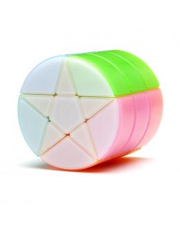Головоломка YJ Cylindrical Colorful Stars