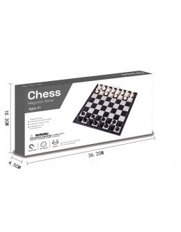 Шахматы пластиковые магнитные
