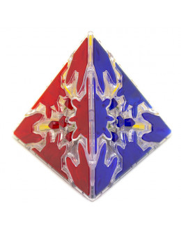 Головоломка QiYi Gear Pyraminx Cube Transparent