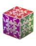 Головоломка QiYi Gear 3x3x3 Tiled Cube Transparent