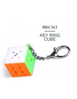 Брелок QiYi Mini 3x3x3 Key Ring Cube 30mm