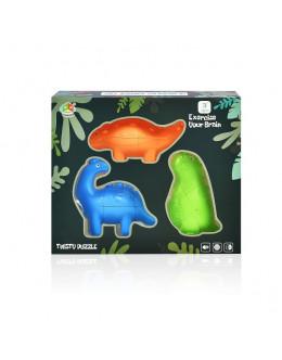 Набор головоломок FanXin Cute Diplodocus 3 set